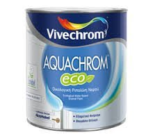 Vivechrom Aquacrom Eco Gloss Λευκό 750ml