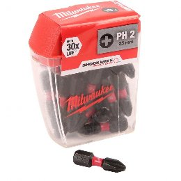 Milwaukee 4932430853 Μύτη PH Shockwave Impact Dutty 1/4